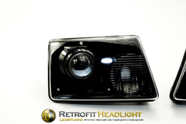Бисветодиодные фары Ford Ranger 01-08