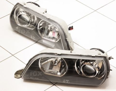 Бисветодиодные фары Toyota Chaser 96-01