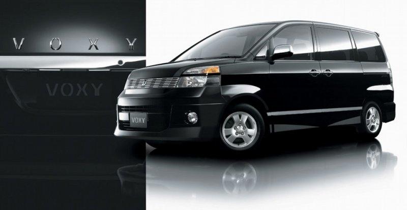 BiLed фары Toyota Voxy 01-04