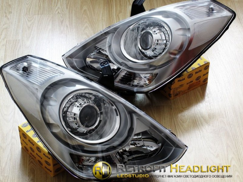 Bi Led фары Hyundai Starex 07-