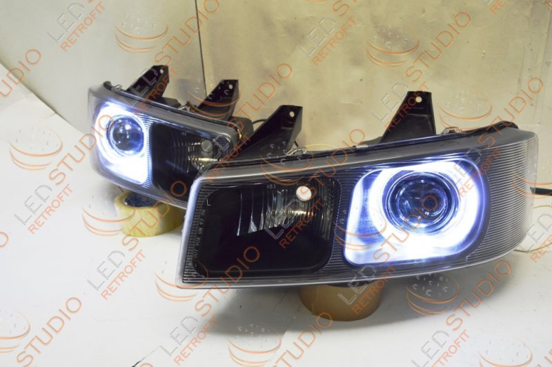 Бисветодиодные фары Chevrolet Express 03-10