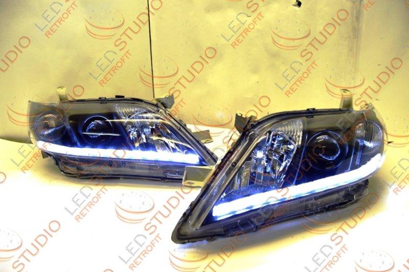 Bi Led фары Toyota Camry V40 06-