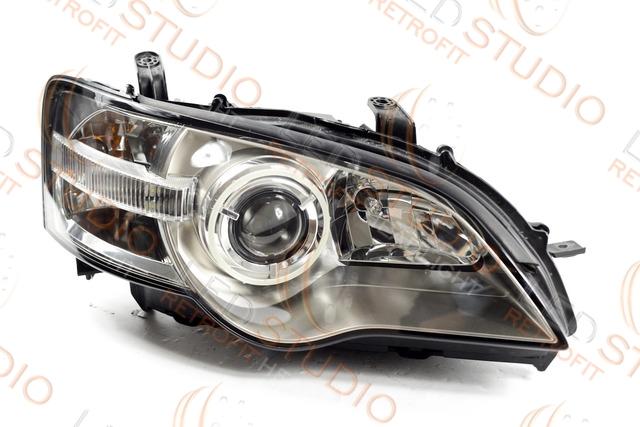 Бисветодиодные фары Subaru Legasy BL 03-05