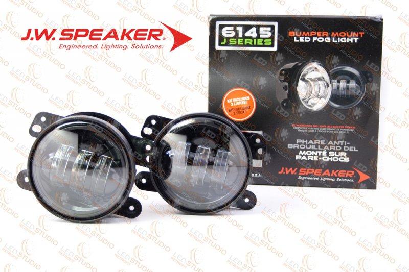 JW Speaker 6145 J Bumper Fog Lamps