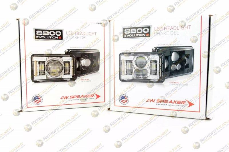 JW Speaker 8800 Evo 2 LED (с подогревом стекла)