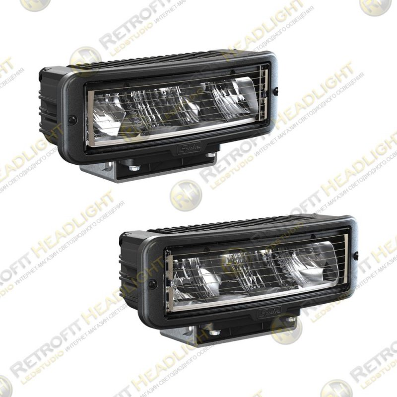 JW Speaker Model 9800 12/24V Universal DOT LED Headlight Kit (2 Lights), Non-Heated