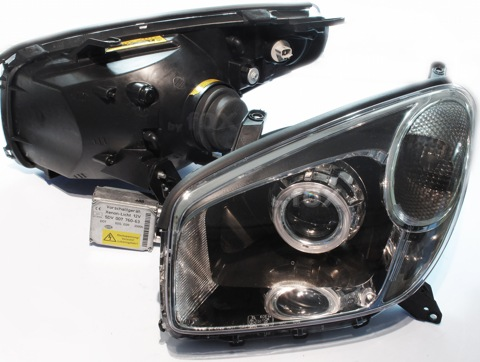 Бисветодиодные фары Toyota Rav4 00-05