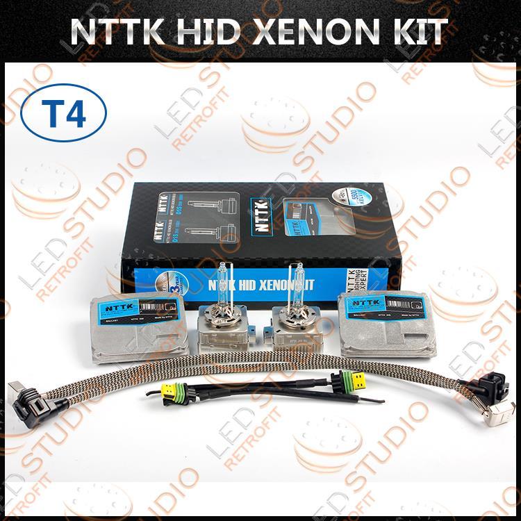 Ремкомплект замены штатных блоков и ламп ксенона Т4