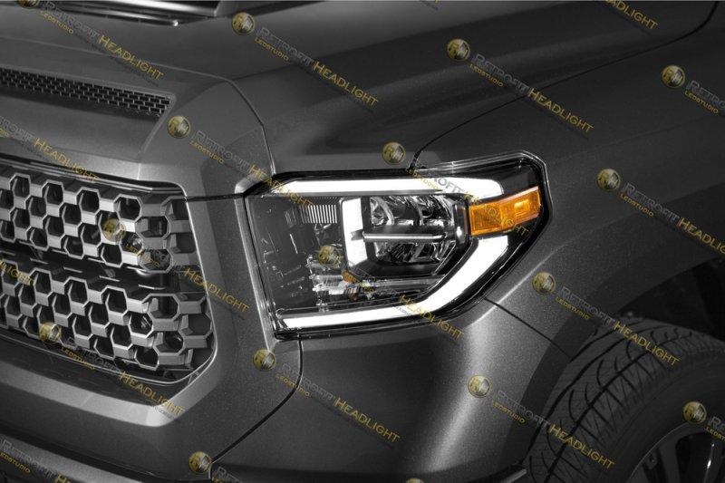 Светодиодные фары Toyota Tundra 07-18