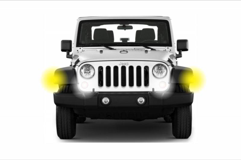 Светодиодные лампы для Jeep