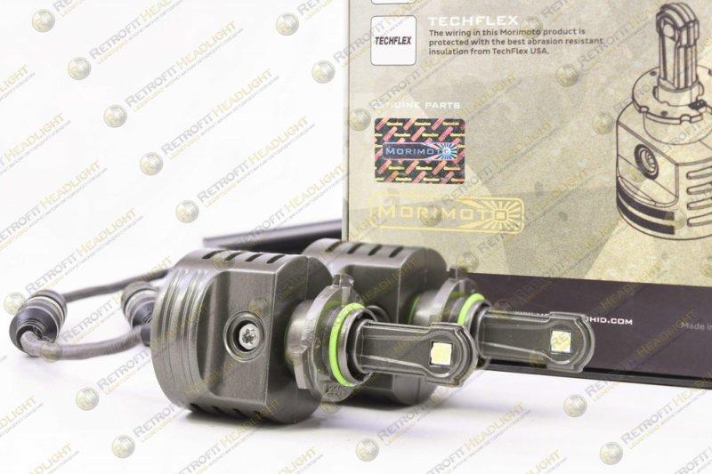 Светодиодная лампа Morimoto 34W 5000 Lm (Комлект - 2 шт)