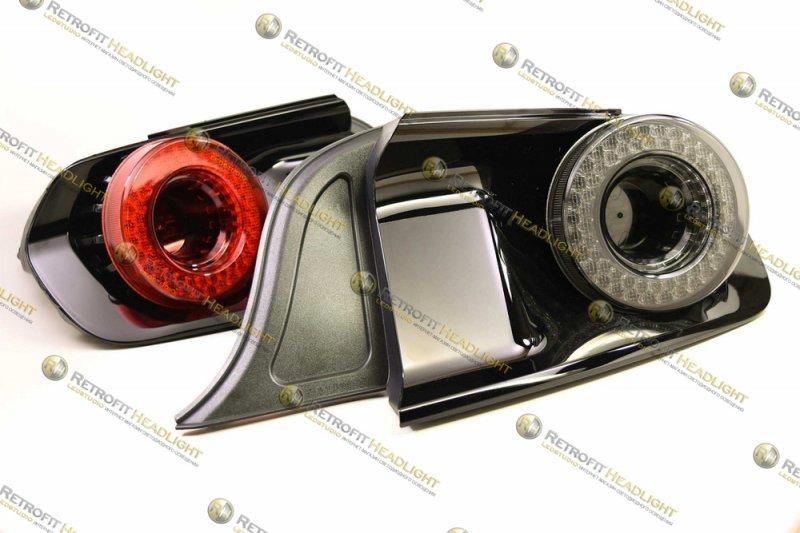 Светодиодные задние фонари Ford Mustang 15-18