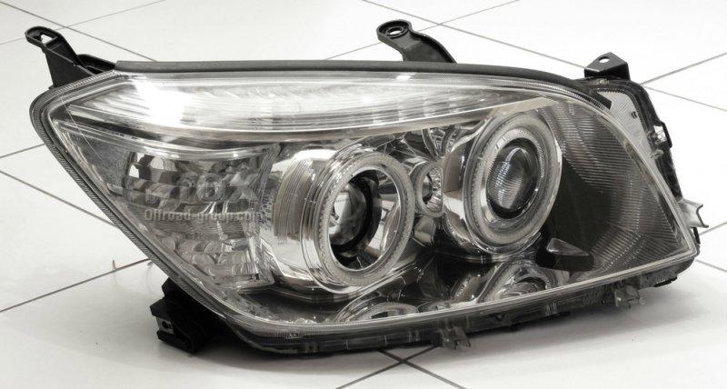 Бисветодиодные фары Toyota Rav4 05-08