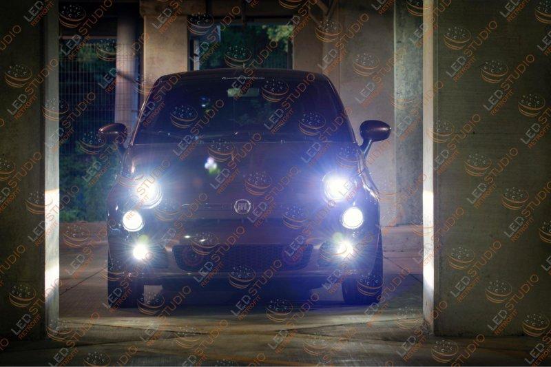 Fiat 500 Morimoto XB LED