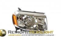 Биксеноновые фары Honda Pilot от «ledstudio.org»