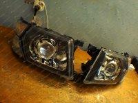 Bi Led светодиодные фары Nissan Patrol GR Y61 99-05