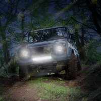 JW Speaker Model TS1000 14 LED Light Bar 12-24V LED 14 Light Bar with Flood Beam
