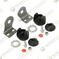 JW Speaker Single End Bracket Kit for Model TS1000 Light Bars