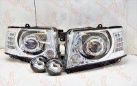 Светодиодные фары Nissan Patrol GR Y61 Bi Led