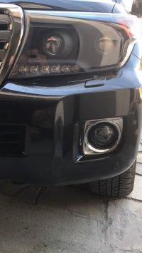 Светодиодные противотуманные фары Toyota Land Cruiser 200 12-