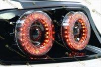 Светодиодные задние фонари Ford Mustang 13-14