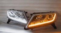 Bi Led светодиодные фары Nissan Pathfinder R52