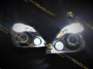 BiLed фары на Mercedes Sprinter 906 06-13