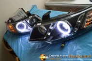 Модернизация альтернативной оптики Kia Cerato Koup