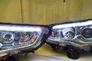 BiLed комплект фар Mitsubishi ASX 10-