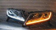 Светодиодные фары Nissan Pathfinder R52
