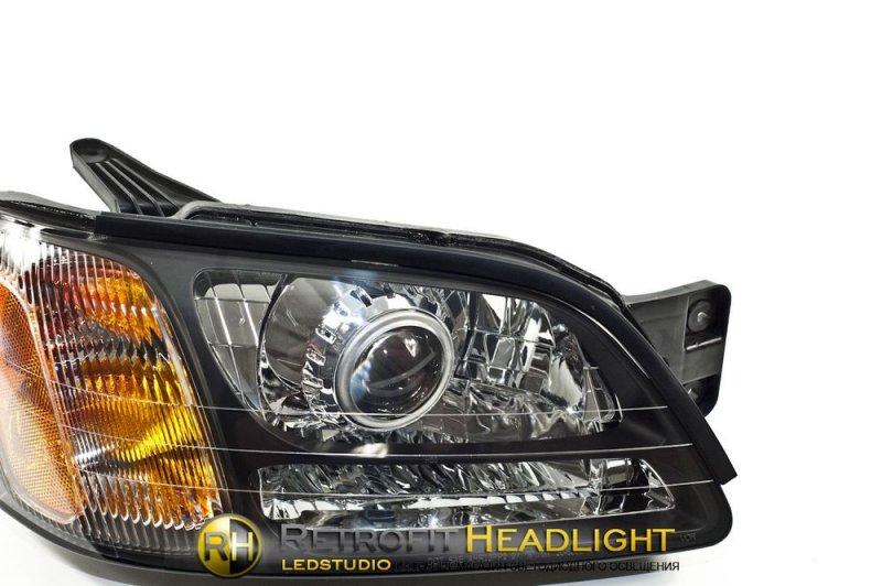 BiLed тюнинг фары Subaru Legacy BE/BH 98-04