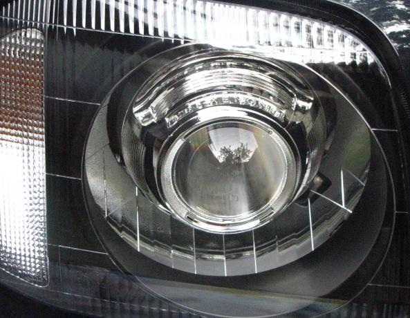 BiLed тюнинг фары Suzuki Jimny 98-