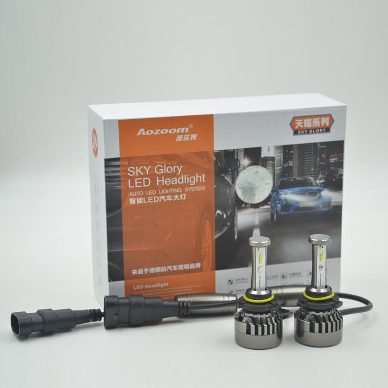 Светодиодная лампа Aozoom 56W 6400 Lm (Комлект - 2 шт)