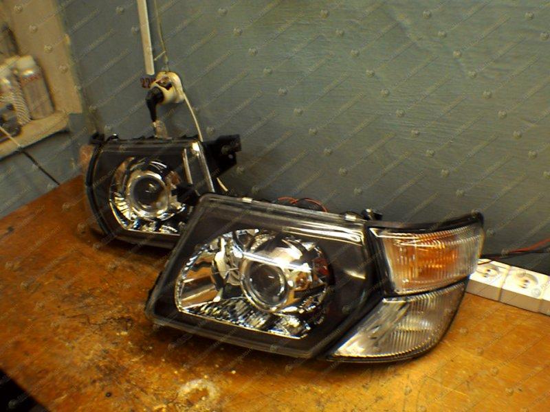 BiLed тюнинг фары Nissan Patrol Y61 (98-04) GR