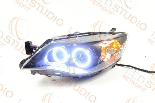 BiLed тюнинг фары Subaru Impreza GE/GH 07-11