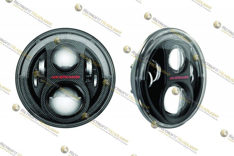 Бисветодиодные фары JW Speaker 8700 Evo J2 для Hummer H2