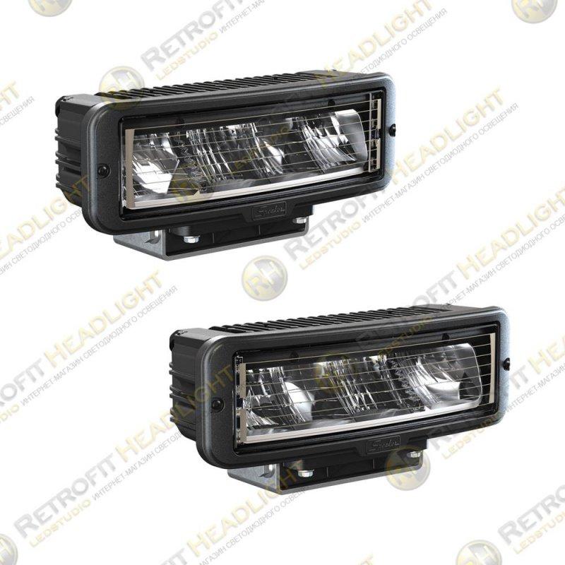 JW Speaker Model 9800 12/24V Universal DOT LED Headlight Kit (2 Lights), Non-Heated