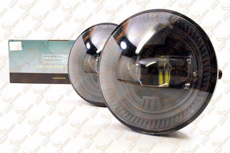 Светодиодные противотуманные фары Toyota Morimoto XB LED (ROUND)