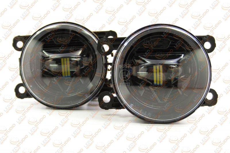 Светодиодные противотуманные фары Fiat 500 Morimoto XB LED
