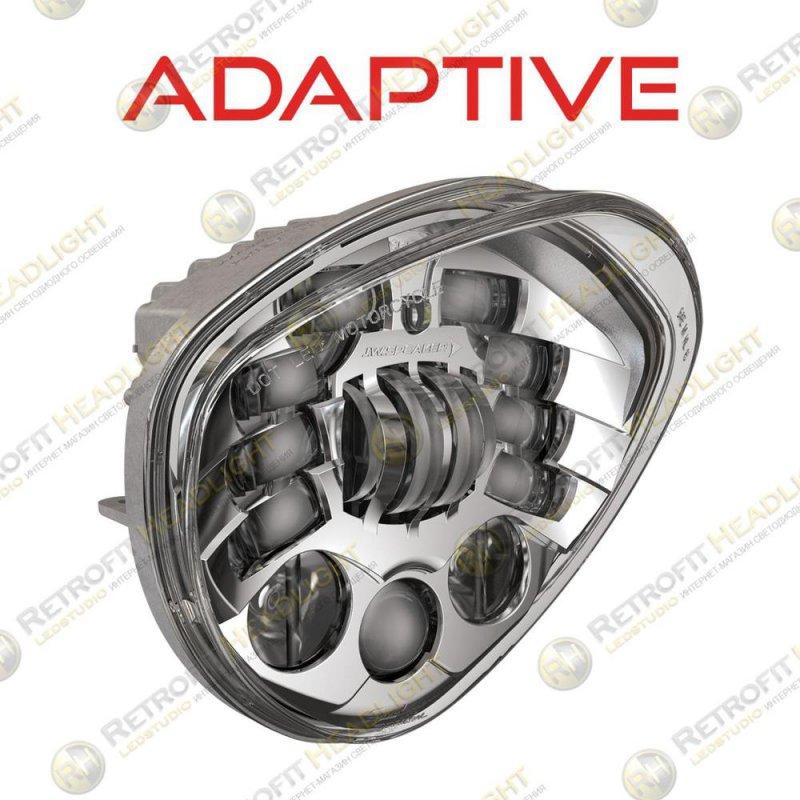 JW Speaker Victory Motorcycle LED Headlight 8695 Adaptive