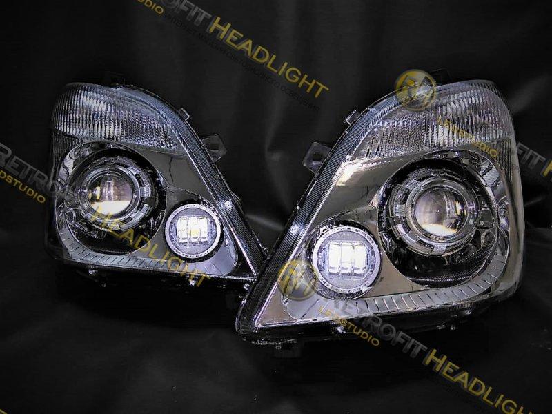 Светодиодные фары для Mercedes Sprinter 906 06-13