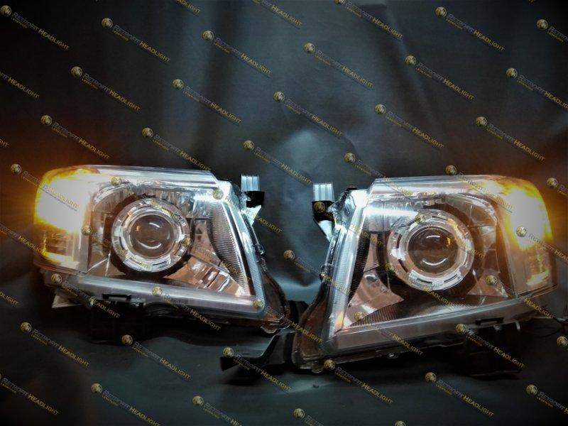 Bi Led светодиодные фары Toyota Hilux