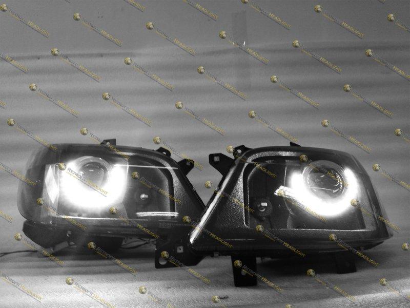 Bi Led светодиодные фары Mercedes Sprinter