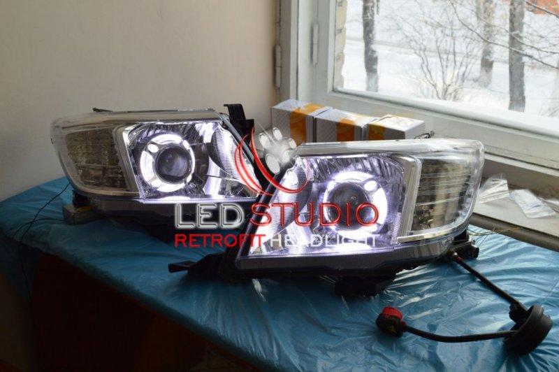 БИКСЕНОНОВЫЕ ФАРЫ ДЛЯ Toyota HiLux 2012
