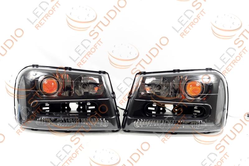 Биксеноновые фары Chevrolet Trailblazer