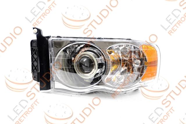 Биксеноновые фары Dodge Ram 06-09