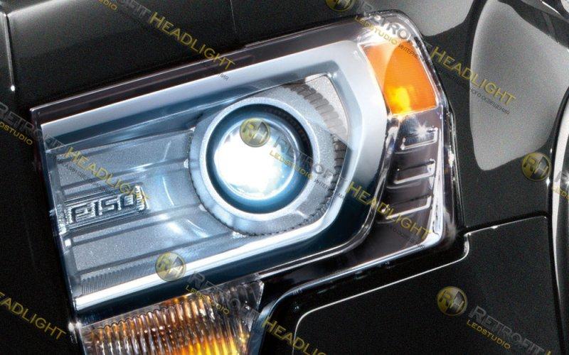 Биксеноновые фары Ford F150 13-14