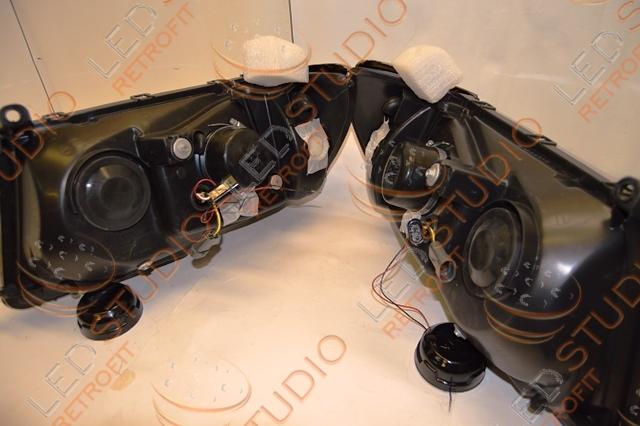 Биксеноновые фары Toyota Land Cruiser 100 98 -