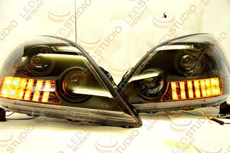 Бисветодиодные фары Lexus GX470 02-