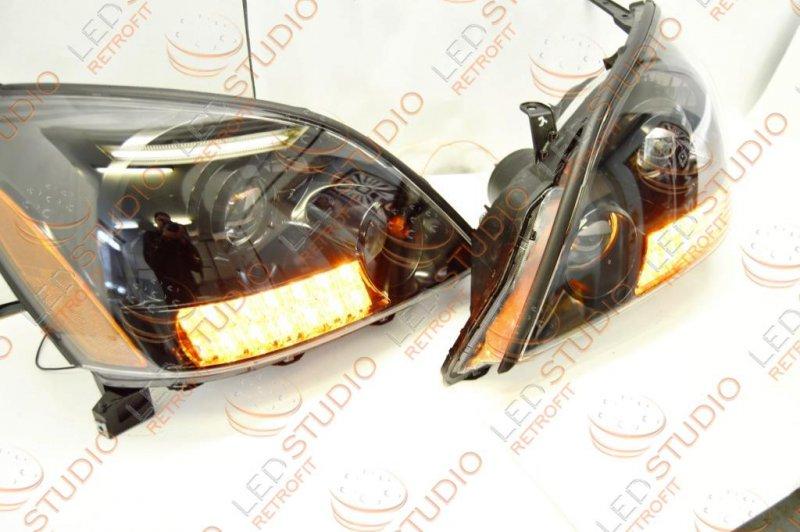 Бисветодиодные фары Lexus GX470